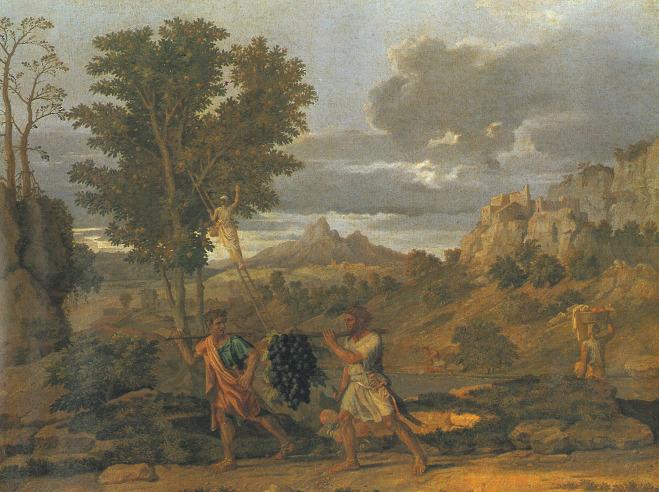 이스라엘 백성들이 세 번째 유월절 지킨 후 입성한 가나안
